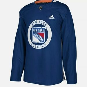 New York Rangers Authentic Practice Jersey
